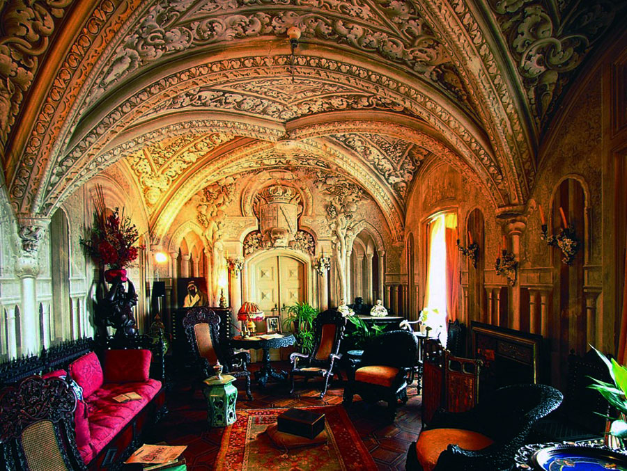 Pena National Palace Sintra Palaces And Historic
