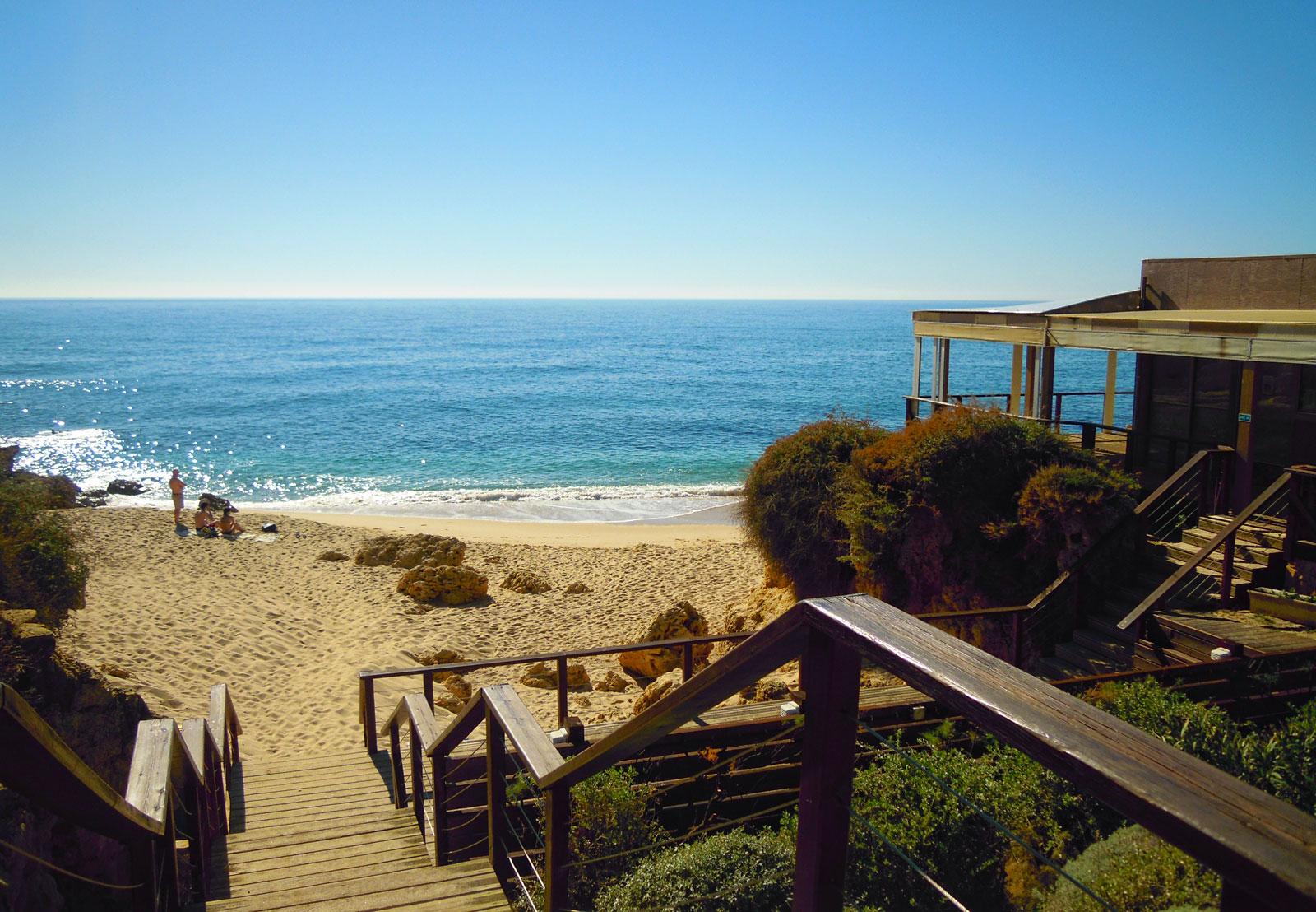 Praia Da Coelha Albufeira The Algarve Beaches