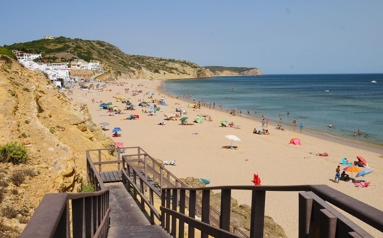 Praia da Salema - Lagos   The Algarve Beaches   Portugal Travel Guide