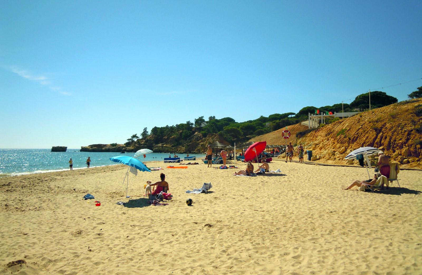 Praia De Santa Eulália Albufeira The Algarve Beaches Portugal Travel Guide