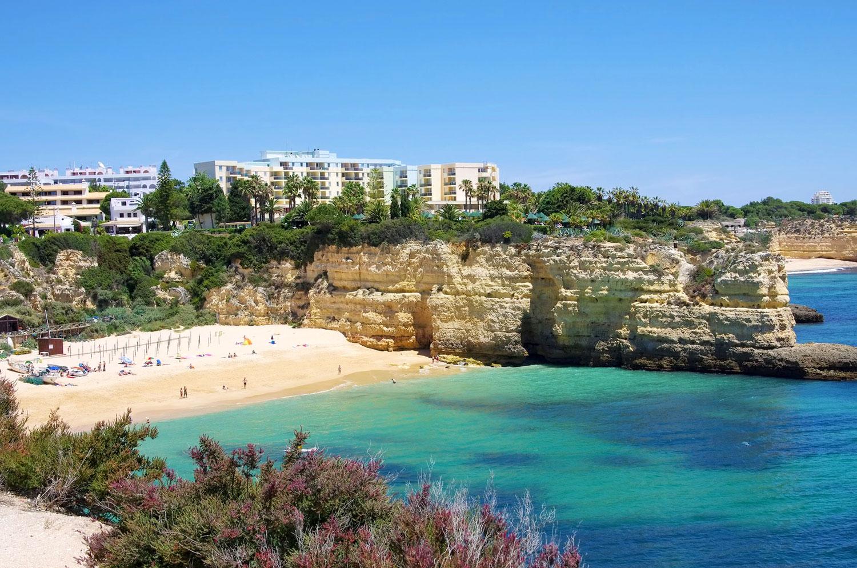 Praia Da Senhora Rocha Armação De Pêra The Algarve Beaches Portugal Travel Guide