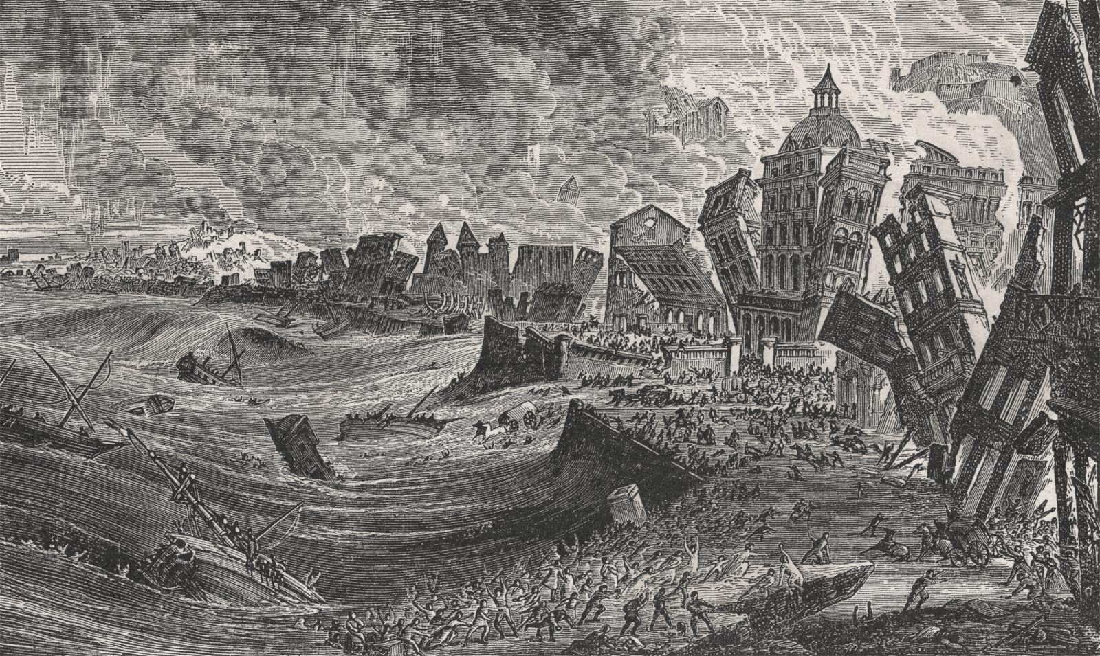 The Lisbon Earthquake Of 1755 Portugal Travel Guide