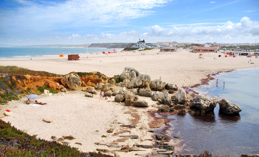 Baleal Central Portugal Beaches Travel In Portugal - Portugal map baleal