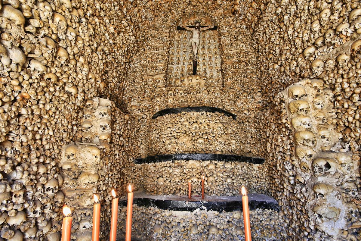 Image result for evora bone chapel pics