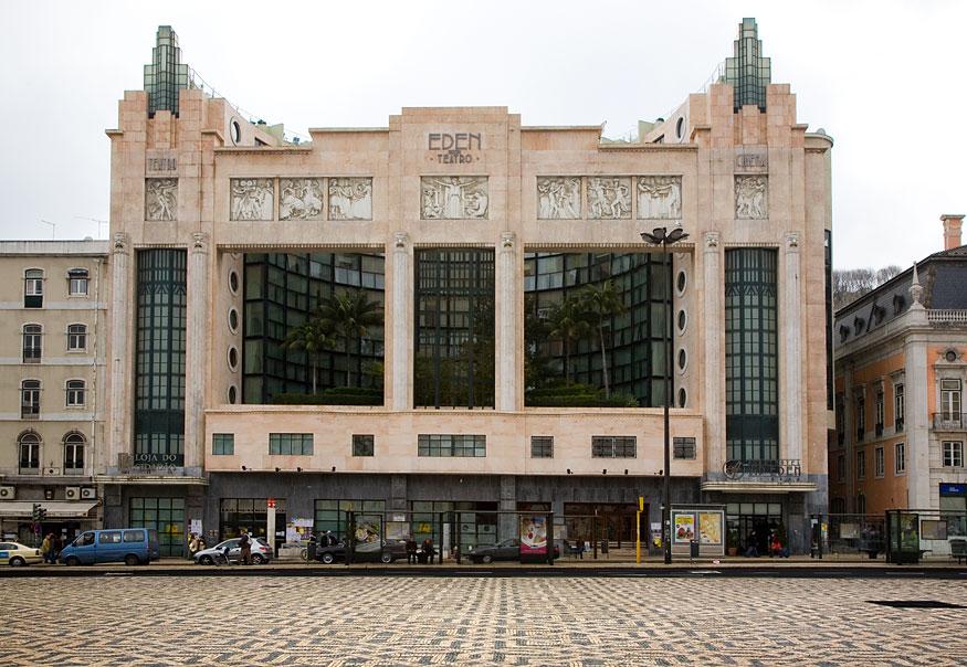 Eden Teatro Lisbon Portugal Travel Guide Photos