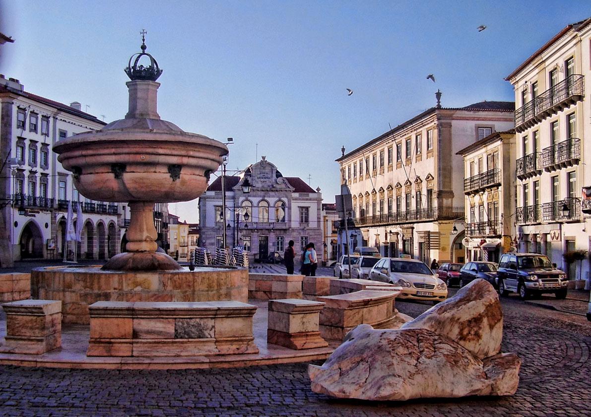 Praça do Giraldo - Evora
