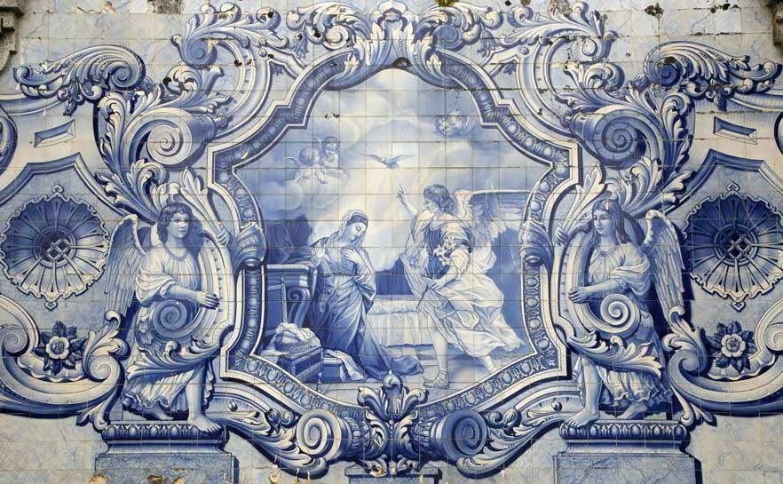 Azulejos in lamego portugal travel guide photos for Azulejos de portugal