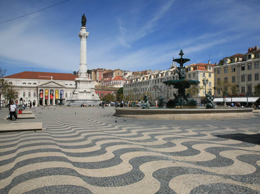 Lisbon Portugal  city pictures gallery : Rossio Lisbon | Travel in Portugal Photos
