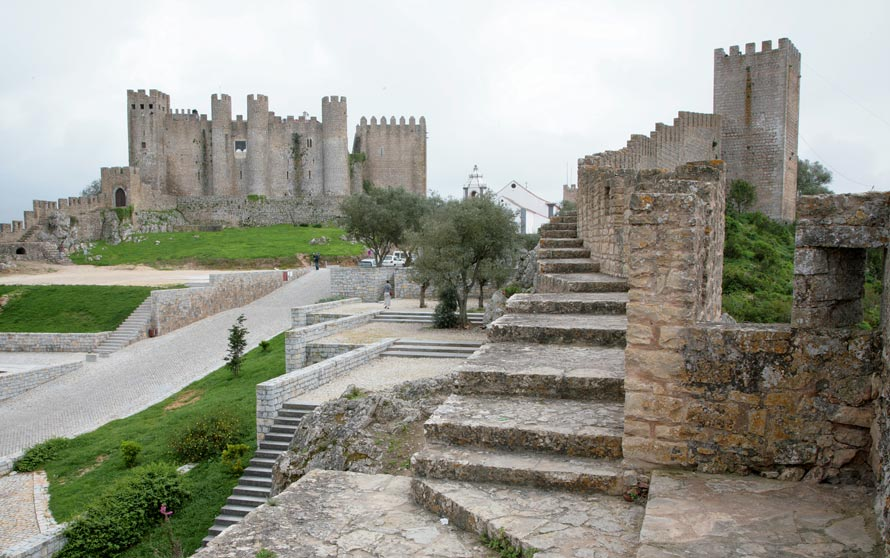 Obidos Portugal  city images : Obidos Castle and Walls | Travel in Portugal Photos