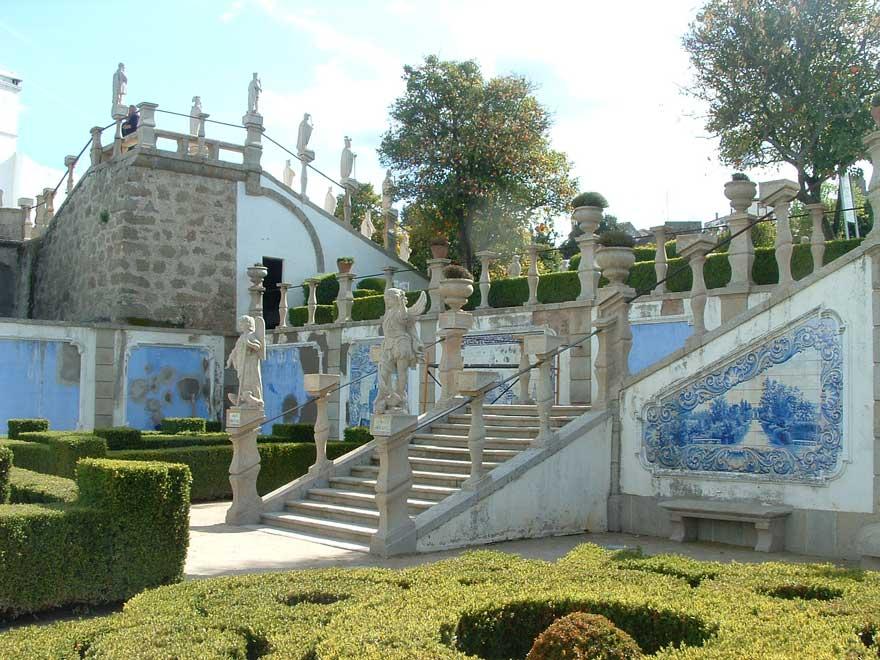 Garden of the Episcopal Palace in Castelo Branco