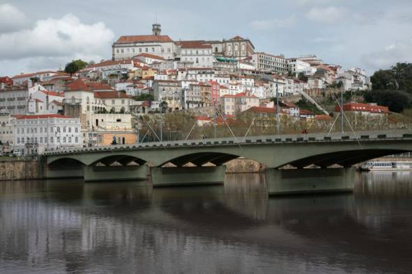 Coimbra, central Portugal