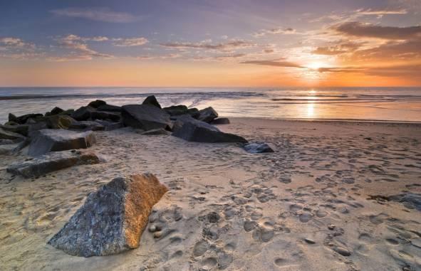 Esposende beach sunset