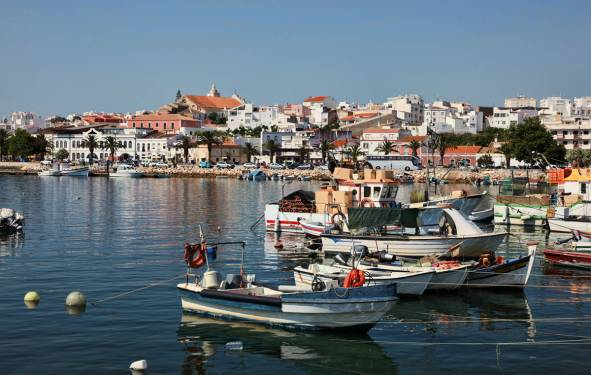 Lagos harbour - Algarve