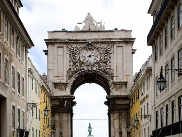 Rua Augusta Arch - Lisbon