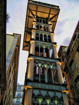 Bildergebnis für elevador de santa justa