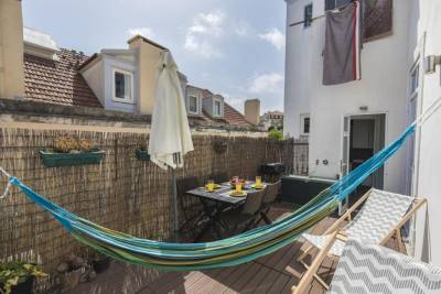 2bedroom flat - Bica, charm and terrace