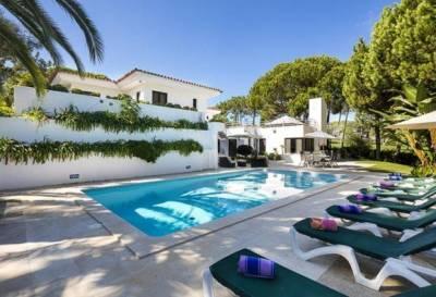 Quinta do Lago Villa Sleeps 12 Pool