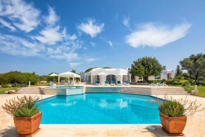 Carvoeiro Villa Sleeps 8 Pool Air Con WiFi