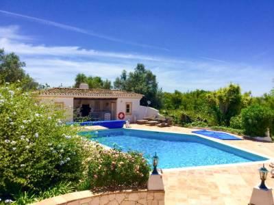 Parchal Villa Sleeps 15 Pool Air Con WiFi