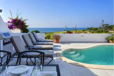 Vale do Lobo Villa Sleeps 7 Pool Air Con WiFi