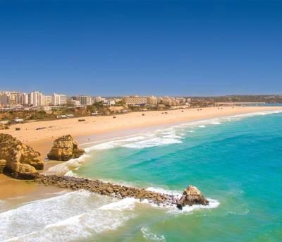 Praia da Rocha Beach View