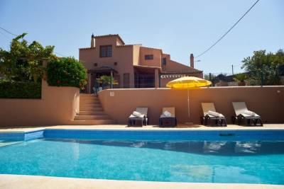 Villa O Monte: charming family villa near Alvor