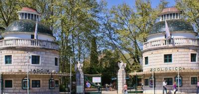 Lisbon Zoo entrance