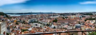 Miradouro da Senhora do Monte, Graca, Lisbon