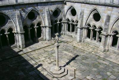 Porto Cathedral cloisters