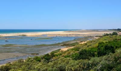 Cacela Velha view across Ria Formosa