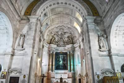 Interior of Santuário de Fátima