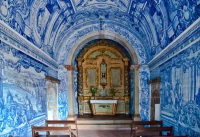 Forte Sao Felipe, Setúbal. Azulejos