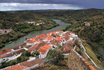 Mértola - River Guadiana - Portugal