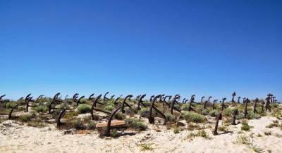 Praia do Barril anchors