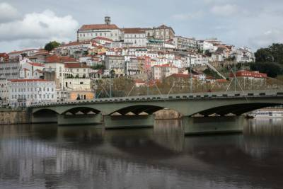 Coimbra Across the Mondego