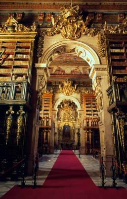 Dom Joao V Library - Coimbra