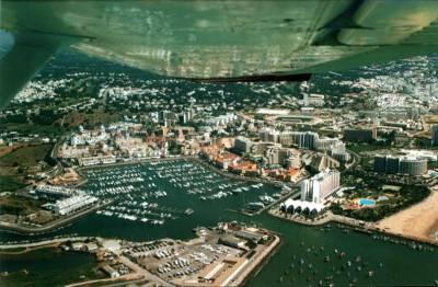 Vilamoura Marina from the Air