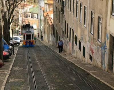 Elevador da Gloria - Lisbon