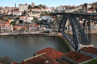 Porto Bridge from Vila Nova da Gaia