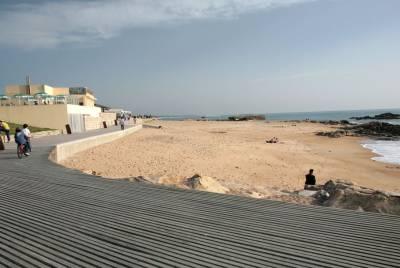 Praia Castelo do Queijo - Porto