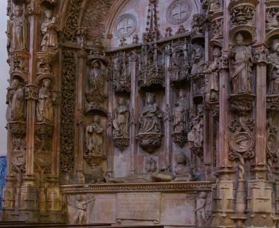Snacho I tomb - Igreja Santa Cruz, Coimbra