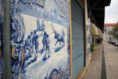 Bullfighting Azulejos - Santarem