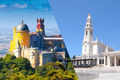 Lisbon All-in-one: 2 days Tour from Lisbon to Sintra & Fátima + Airport Transfer