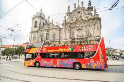 City Sightseeing Porto Hop-On Hop-Off Bus Tour