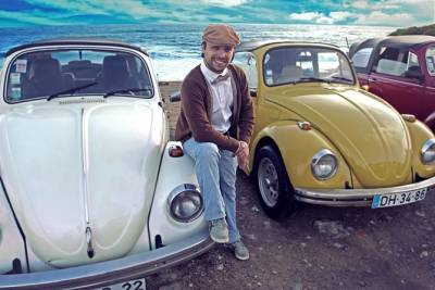Private Lisbon and Sintra Sightseeing Tour by a Classic Convertible Beetle