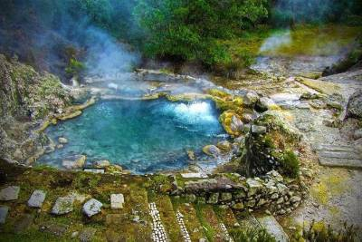Azores: Shore Excursion - Furnas volcano and hot springs