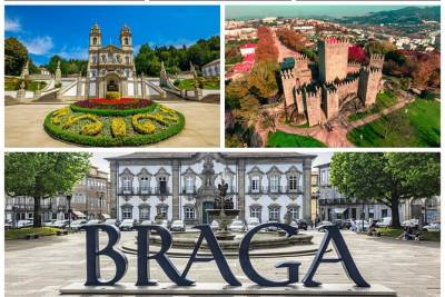 Full Day Braga and Guimarães from Porto with Lunch