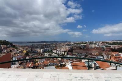 Lisbon overview on a Tuk Tuk