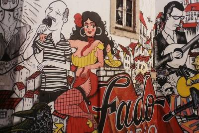 Lisbon Street Art and Lookout Point Tour