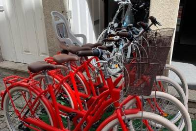 Bicycle Rent 4 Hours + GPS Route, Porto